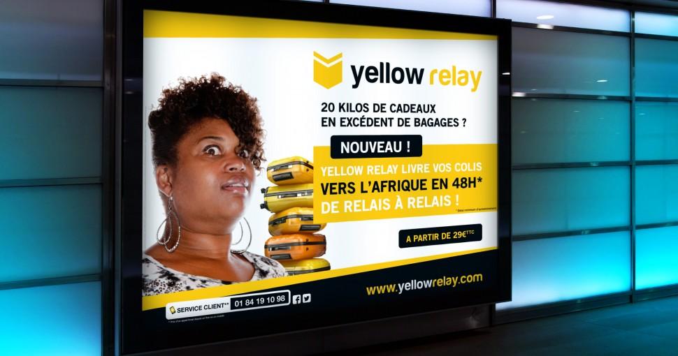 Campagne d'affichage dans le métro de Paris
