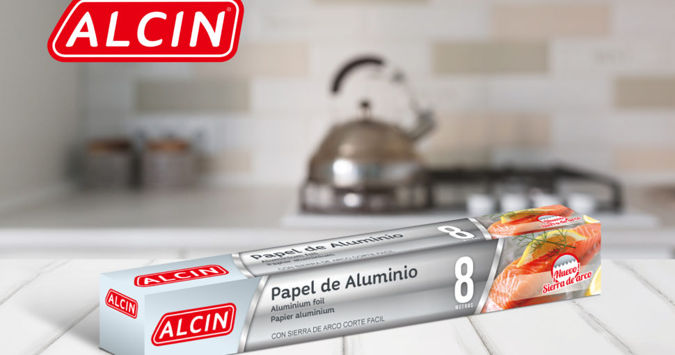 Logo et packaging Alcin