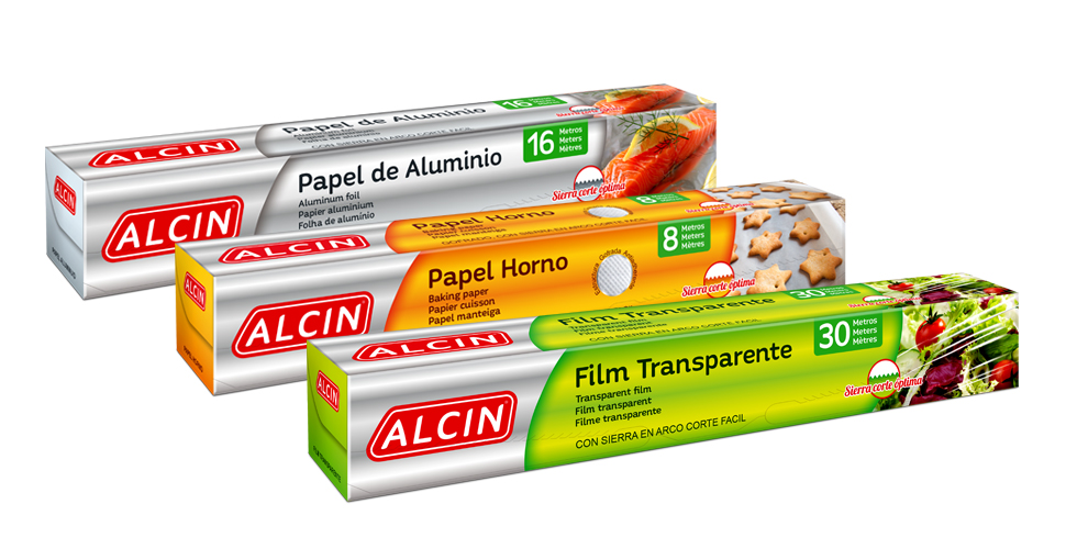 Packaging Alcin